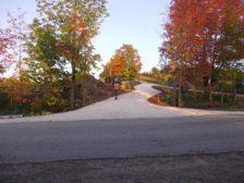 Gravel lane way