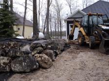 Field Stone Retaining Wall