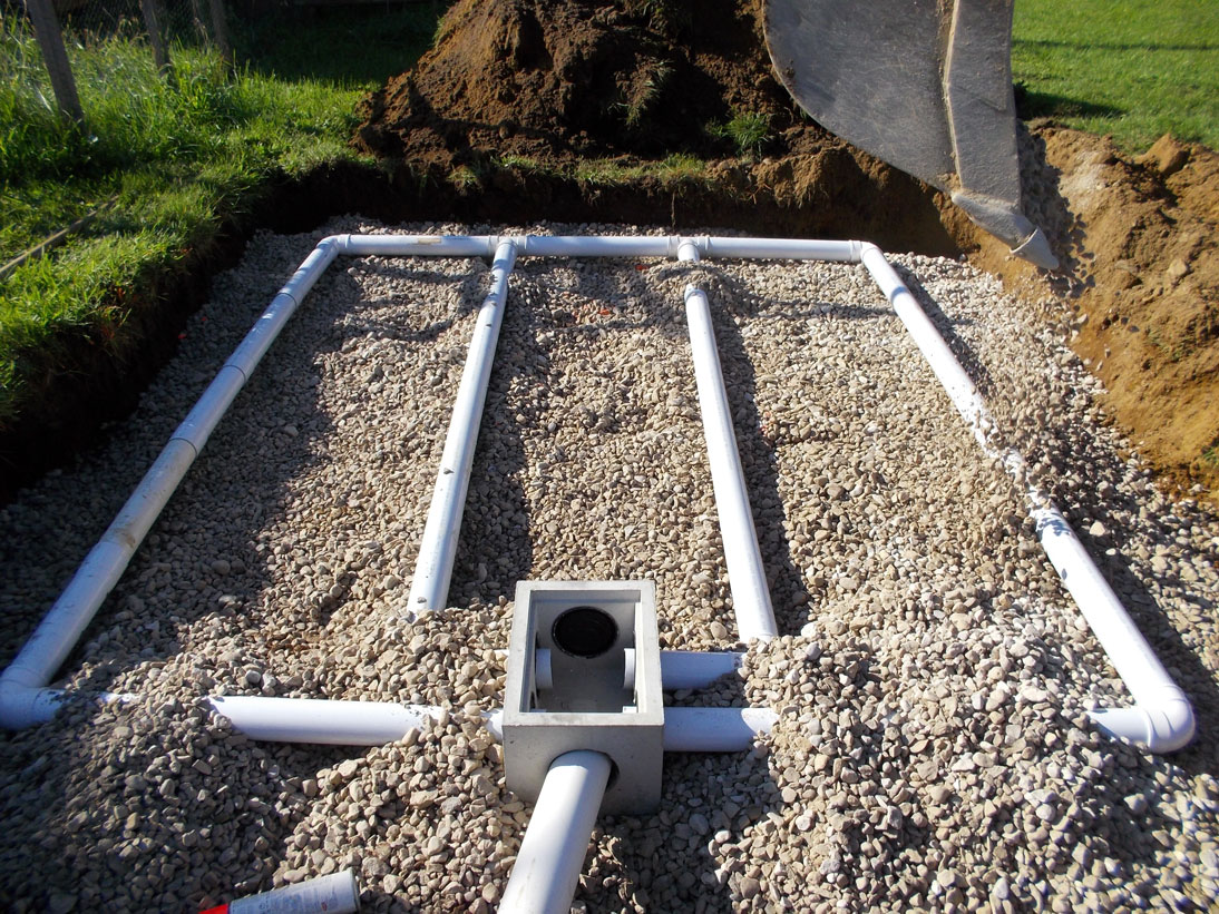 Septic services mac taylor corporation in grey bruce for Cottage septic systems