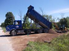 Mac Taylor dump truck