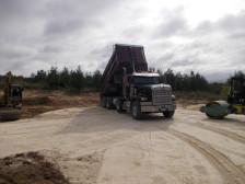 Dumping aggregates
