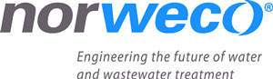 Norweco water logo